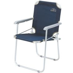 BUNDOK Bandokku aluminum folding chair navy BD152 -- Read more reviews of the product by visiting the link on the image.
