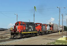 RailPictures.Net Photo: CN 7060 Canadian National Railway EMD GP9 at Edmonton, Alberta, Canada by Colin Arnot
