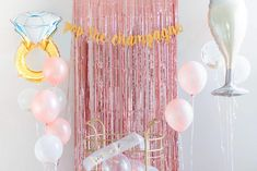 ✔ YOUR IDEAL KIT - Take your bachelorette party to the next level with a beautiful backdrop and stunning decorations. We can only imagine how gorgeous you and your friends will look next to the picture worthy decorations kit. ✔ 29 PIECE KIT: ✓ 12 piece - 12 inch Latex Balloons (Rose Gold Pearl), ✓