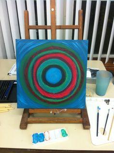 Mijn eerste schilderij!