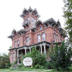 The Victorian Mansion Inn, Coldwater, Michigan - Italianate