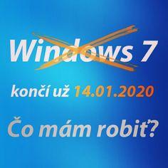❗❗❗⚠ Od 14.01.2020 už nebude váš počítač 💻 s Windows 7 viac chránený😷! Microsoft ohlásil koniec 🚫 podpory😥. ⚠❗❗❗ Vyhnite sa riziku a aktualizujte ♻ si svoj počítač ešte dnes! Neviete ako? S tým Vám radi pomôžeme!😉👍 Ponúkame vám spoľahlivú 💖a bezpečnú aktualizáciu 🔃 vášho počítača za dobrú cenu👍💲. To všetko bez straty 😄 obľúbených programov, dôležitých dát, súborov, ako aj fotiek, hudby 🎶 a videí. 📞 Zavolajte na 0948 07 97 07 📧 alebo nám napíšte na linka@itpomoc.sk. ♻… Microsoft, Calm, Instagram