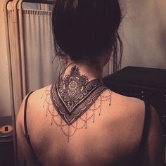 Mandala Neck Tattoo - 30+ Intricate Mandala Tattoo Designs <3 <3