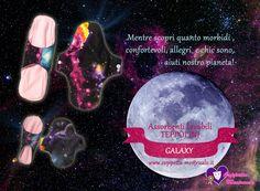 Assorbenti lavabili Teppolini. Linea Galaxy. https://www.coppetta-mestruale.it/assorbenti_lavabili.php