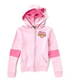 Loving this Pink Teenage Mutant Ninja Turtles Hoodie - Girls on #zulily! #zulilyfinds