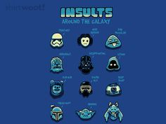 Insults Around The Galaxy for $7 - $10
