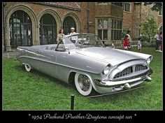 1954 Packard Panther-Daytona   Concept Car...