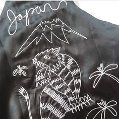 Our take on the classic souvenir jacket coming soon