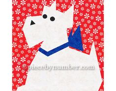 Name: 'Quilting : Scottie Paper Pieced Quilt Block Paper Pieced Quilt Patterns, Quilt Block Patterns, Pattern Blocks, Pattern Paper, Quilt Blocks, Dog Quilts, Animal Quilts, Mini Quilts, Quilting Projects