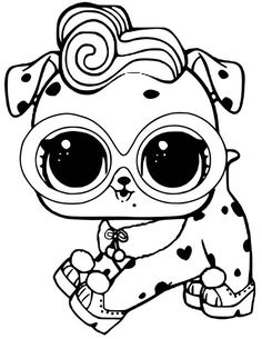 LOL Doll Luxe coloring page | Free Printable Coloring ...