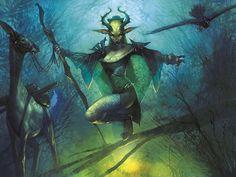 Farhaven Elf - Shadowmoor Elf Druid