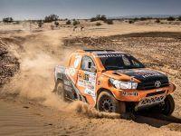 Toyota au départ du Dakar 2018