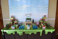 Minecraft Themed Birthday