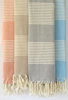 Traditional Turkish Bath Towels