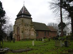 Wyken. Church of St Mary Magdelene,The oldest church in Coventry.