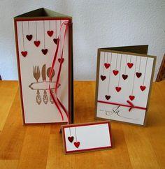 Hochzeitsset Karten von Smilland auf DaWanda.com