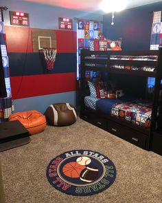 Dribble, Shoot, or Pass The Ball Too; A Simple Sports Them Designed Specifically For You. A Comfortable Kids Zone, In This Lovely Home,…