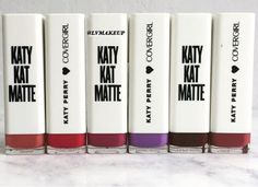 Cover Girl Katy Kat Matte by Katy Perry Review and Swatches