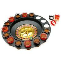 Shot Glass Roulette. Casino theme party drinking game