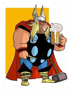 Old super heroes : THOR