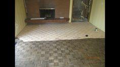 Red oak ebony parquet Parquet Flooring, Red Oak, Corner Bathtub, Tile Floor, Hardwood, Room, Bedroom, Tile Flooring, Rooms