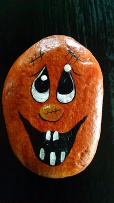 Image result for halloween painted rocks