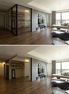 Interior Walls, Living Room Interior, Kitchen Interior, Home Interior Design, Interior Architecture, Interior Decorating, Futuristic Architecture, Living Room Kitchen Partition, Open Kitchen And Living Room