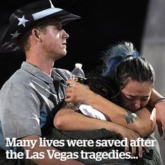 These are the unsung heroes of the Las Vegas shooting ️
