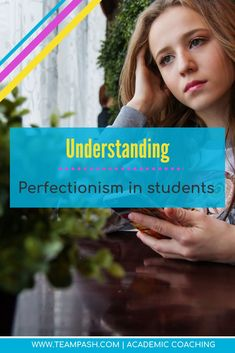 Perfectionism in students is the number one cause of procrastination. Perfection can impact the quality work of teenagers who are successful or failing students. We look at what procrastination is, how to find balance in your child's life and beat overwh School Schedule, School Planner, School Tips, Middle School, High School, Law School, College Search, Study Skills, Study Tips