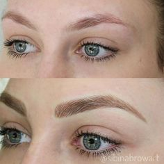 Add volume , correct your starting points,… - Microblading Mircoblading Eyebrows, Light Eyebrows, Blonde Eyebrows, Tweezing Eyebrows, Permanent Makeup Eyebrows, Threading Eyebrows, Eyebrow Makeup, Eyebrow Tips, Feather Brows