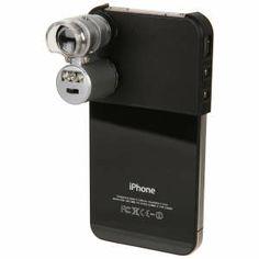 iPhone 4 mini microscope