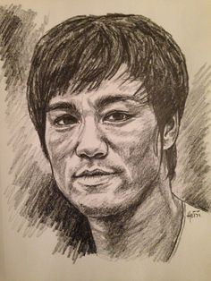 """""""Empty your mind. Be formless. Shapeless. Like water. You put water into a cup, it becomes the cup. You put water into a bottle, it becomes the bottle. You put water into a teapot, it becomes the teapot. Water can flow or it can crash. Be #water, my friend."""" ~Bruce Lee #BruceLee 🏆👊🏻🔥💥💧💦🌊 #inspirationalfacesseries #Hyde #Heidi #RainbowRiverArt #MartialArts #Hero #Karate #LongIsland #NewYork #Actor #Sports  #Philosopher #jeetkunedo   ©Hyde 