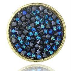 Crystal Ice Bermuda Blue Ring, $60 Value!