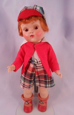 1951 Strung Vogue Ginny BROTHER #35 with Auburn Hair