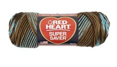 Yarnspirations proudly offers the largest online craft yarn selection including all types of Red Heart Super Saver Yarn. Shop our collection & buy Red Heart Super Saver Yarn. Crochet Yarn, Crochet Hooks, Queen Size Bedspread, Knitting Gauge, Boy Blankets, Super Saver, Red Heart Yarn, Yarn Crafts, Earth