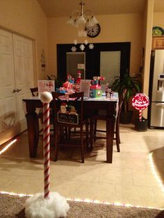North Pole party to celebrate the arrival of your elf!