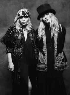 The Iconic Olsen Twins.