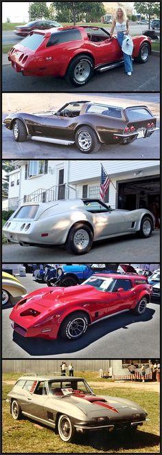 Corvette station wagons.  Hmm