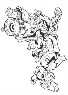Coloring page Transformers Transformers Colouring in for Boys