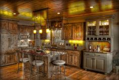 Improbable Kitchens Design With Rustic Components | Decoration Port