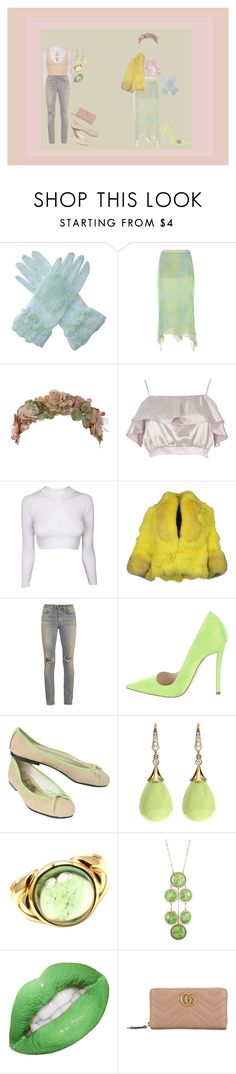 """Untitled #175"" by jack-rabbit ❤ liked on Polyvore featuring Roberto Cavalli, Her Curious Nature, River Island, Yes London, Yves Saint Laurent, Christian Dior, French Sole FS/NY, Bulgari, Danielle Stevens and Gucci"