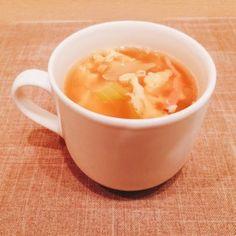 セロリと卵のコンソメスープ by ToToNoE [クックパッド] 簡単おいしいみんなのレシピが249万品