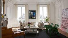 Vivir en Montmartre. Romanticismo y arte en el apartamento parisino de Luis Laplace http://www.muudmag.com/spa/pagina/533-casa-del-arquitecto-argentino-Luis-Laplace-en-Paris FOTOS: Ariadna Bufí