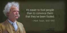 Mark Twain on fools