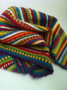 Schoenstricken crochet along (CAL) deken Crochet Chart, Crochet Stitches, Crochet Baby, Knit Crochet, Manta Crochet, Freeform Crochet, Manta Mandala, Striped Crochet Blanket, Crochet Blankets