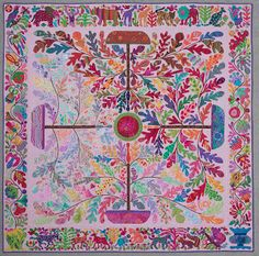Kim McLean's Tree of Four Seasons - I love Kim's quilts, so full of colour.