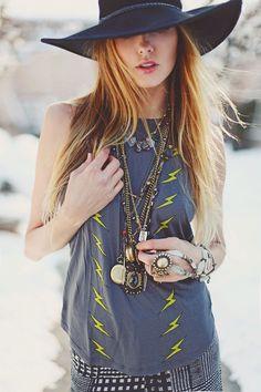 #Boho, #Bohemian, #Jewellery,  #Hat, #Style, #Moda De Petra Pouch and wrap Charcolally