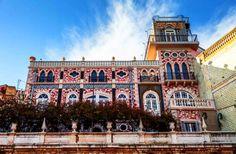 O Palacete do Chafariz D'El Rei em Lisboa é um edifício eclético transformado em Boutique Hotel | Escapadelas | #Portugal #Lisboa #Palacete #Chafariz #DelRei #Boutique #Hotel #NeoMourisco #ArteNovaBrasileira