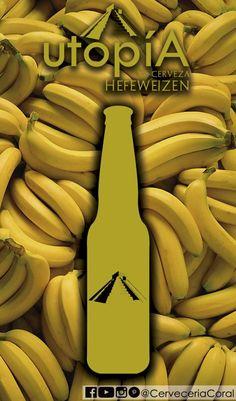 #cervezautopiamx Blonde Ale, Coral, Banana, Fruit, Food, Wheat Beer, Essen, Bananas, Meals