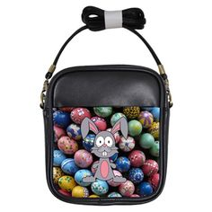 Easter Egg Bunny Treasure Girl's Sling Bag
